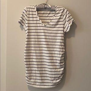 Isabel Maternity Stripes T-shirt M